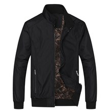 Mens Jackets 2018 New Casual Jacket High Quality winter Regular Pruning and thickening