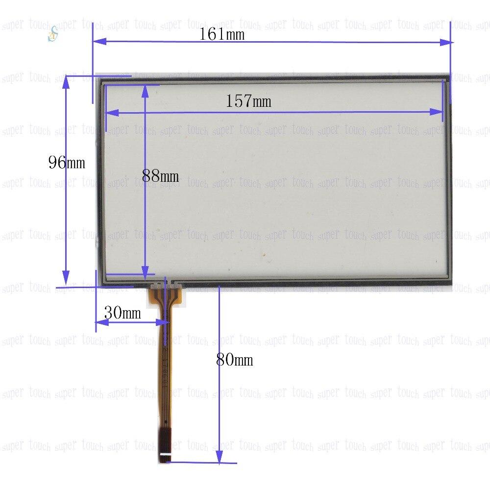Zhiyusun 2pcs Lot Compatible Kdt 3862 Ipc 162 97 7 Inch Touch Wiring Diagram Yamaha Fino Screen Tp Four Wire Resistive Car Dvd Navigation One Machine