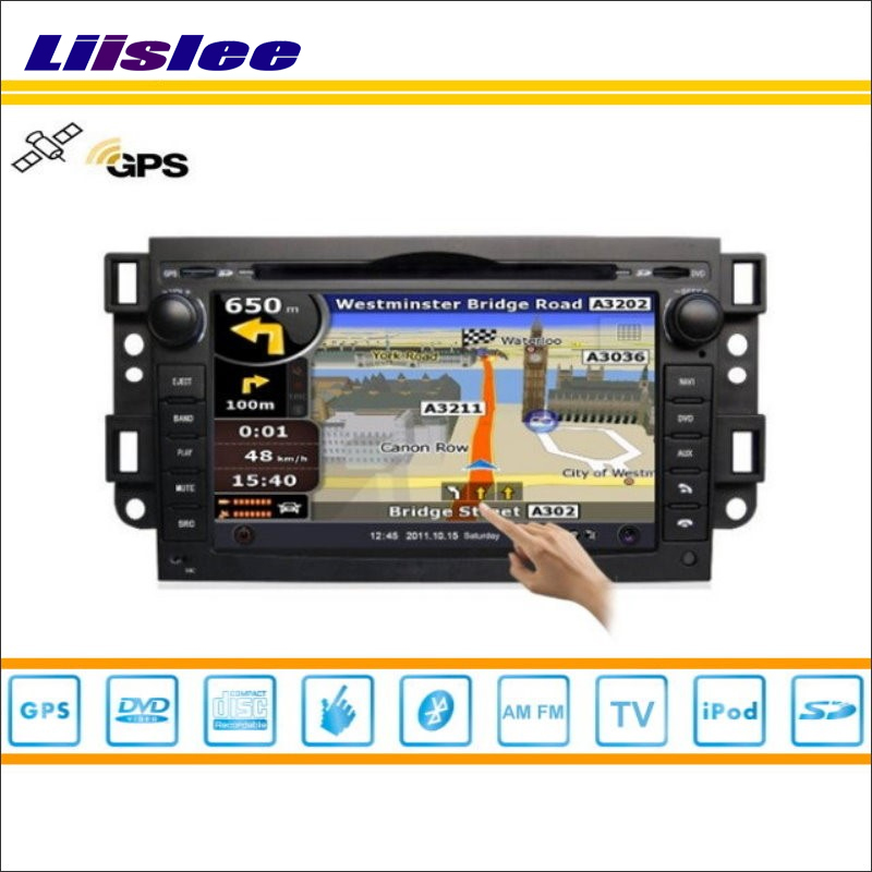 Liislee Car GPS Nav Navi Map Navigation For Daewoo Gentra - Car Radio Stereo TV DVD iPod BT HD Screen S160 Multimedia System