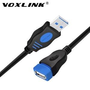 Image 1 - VOXLINK USB 2.0 Cavo di Estensione Per Il Computer Portatile Del PC Maschio a Femmina USB di Ricarica Sincronizzazione di Dati del Cavo di Estensione 1M 1.8M 3M 5M