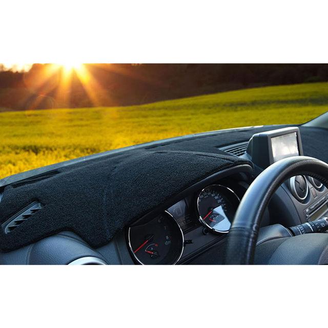 Car Inner Front Dashboard Cover Dashmat Dash Mat Pad Sun Shade Carpet Fit For Mazda 6 2009-2012