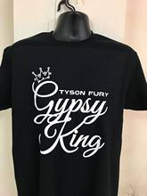 92ad6044a7eb GYPSY KING TYSON FURY BOXING GGG JOSHUA CANELO KHAN PACQUIAO GYM T SHIRT  CUSTOM Harajuku Tops t shirt Fashion Classic Unique