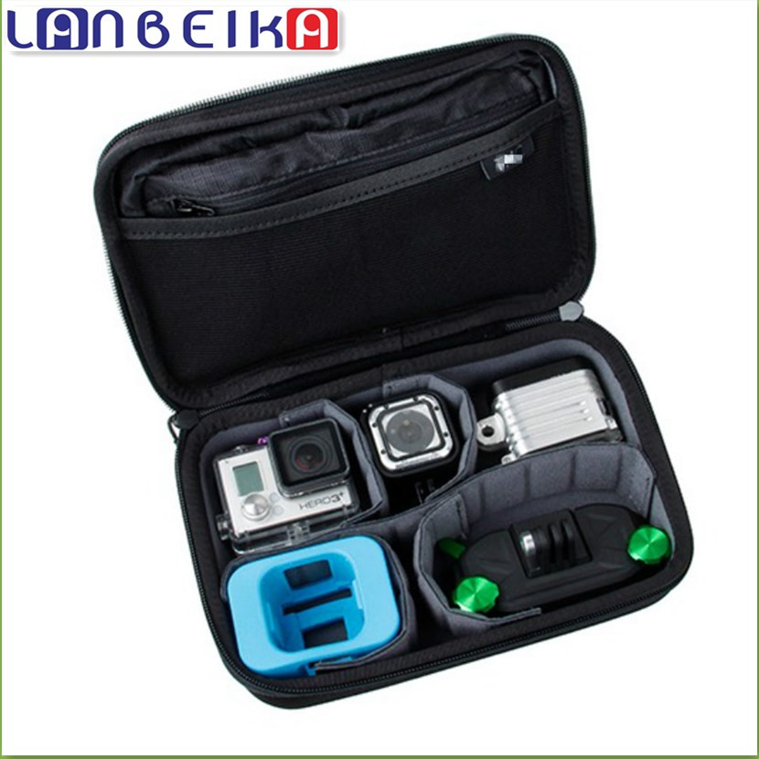 LANBEIKA For Gopro Hero4 Session Casey storage bag Collection Box Case For Hero 5 5S 4