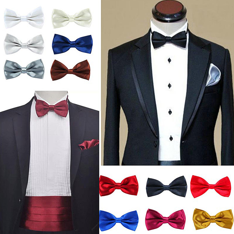 Formal Suit Bowtie Gift for Men Novelty Tuxedo Bow Tie Boys Teens