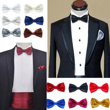Chłopiec muszka wysokiej jakości muszka krawat Homme Noeud Papillon Corbatas Hombre Pajarita prezent dla mężczyzn prezent bożonarodzeniowy tanie i dobre opinie WOMEN Chłopcy Dziewczyny Moda Poliester Dla dorosłych Krawaty Jeden rozmiar Stałe