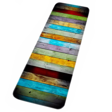 TOP!-Long paragraph colorful wood prints Water Absorbent Bath Mats For Bathroom Shower Accessories Floor Carpets Area Rugs 40x