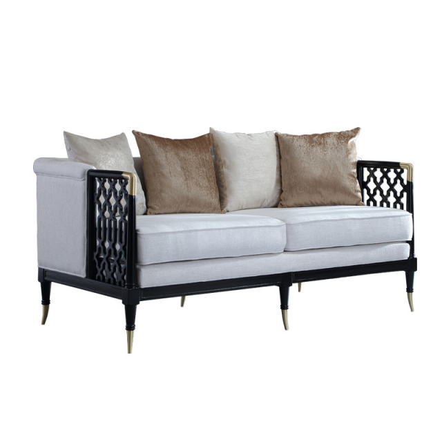 Chinese Style Solid Wood Sofa Set Sofa Fabric Modern Design Sofa