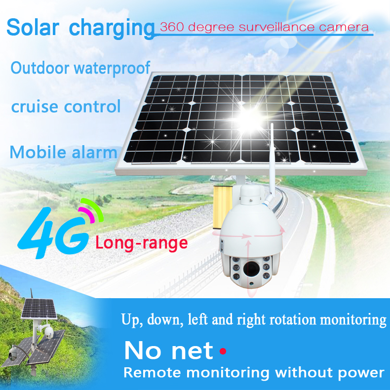 SmartYIBA WiFi 1080P 3G/4G Wireless Network Camera 2.0M 5xOptical Zoom Solar Powered CCTV Security System Surveillance IP Camera