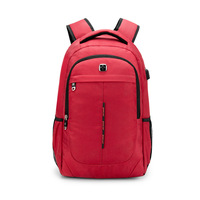 swiss anti theft anti theft backpack with usb charging port laptop Laptop Backpack Nylon Men's Travel bagpack Sac Dos