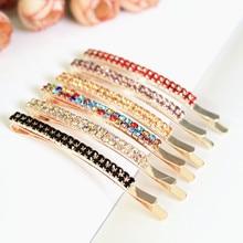 2pcs/set Shining Rhinestone Hairpins For Women Fashion Korean Hair clip Headpiece Barrette 2019 Jewelry Accessories LM5030