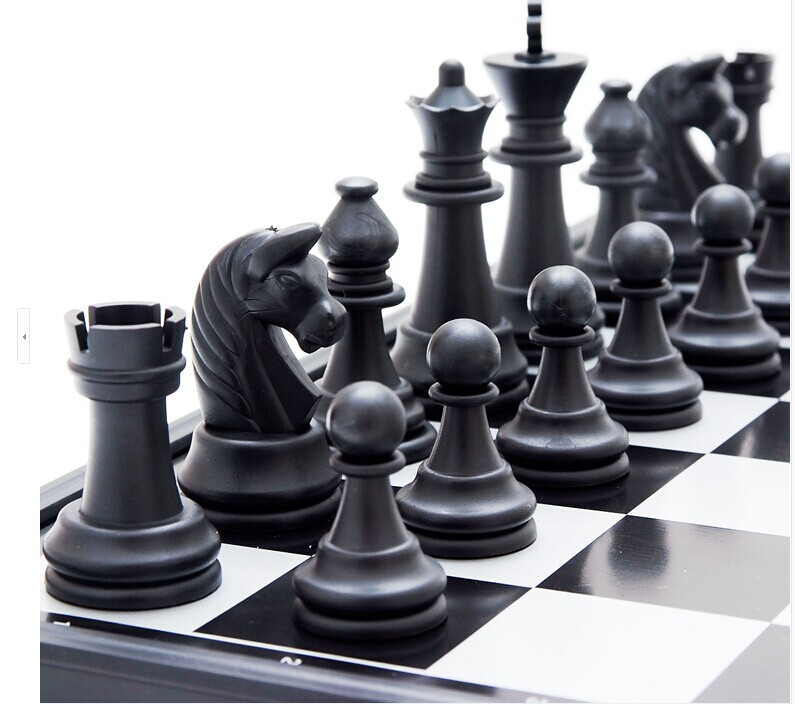 Large Size 320*320mm HIPS High Impact Plastics Chess & Checkers Echecs Interesting Games Fancy Educational Intelligent Toy