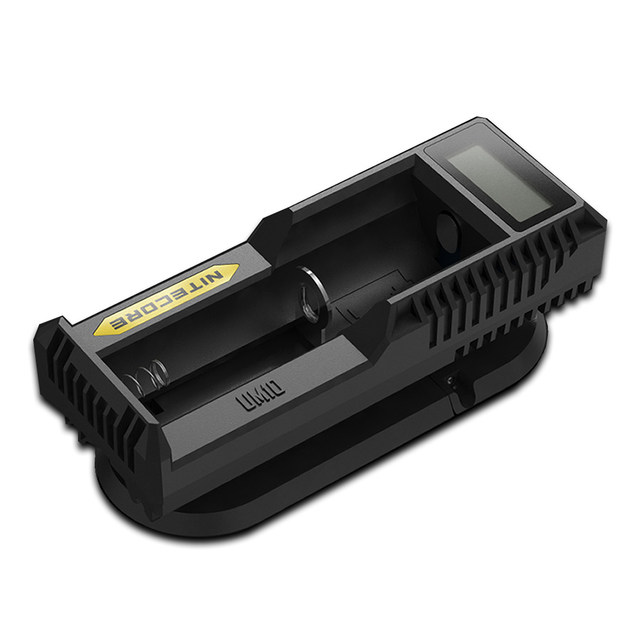2018 NITECORE Smart Battery Charger UM10 Digicharger LCD Display Universal USB Power For Li-ion IMR Battery Travel Power Adapter