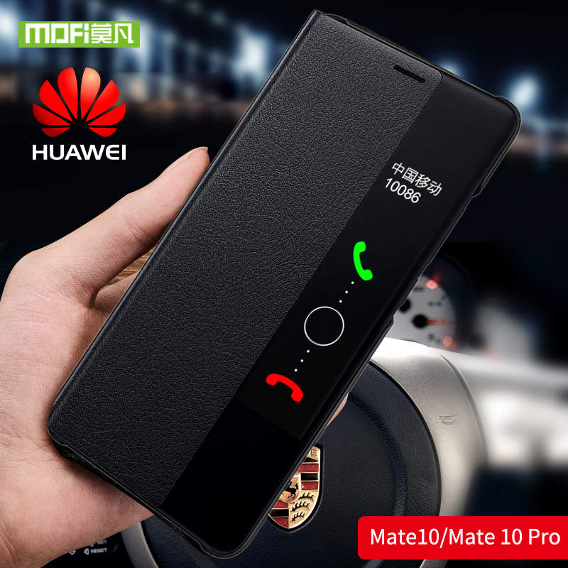 Mofi for Huawei Mate 10 Pro case For Huawei Mate 10 case cover silicone for huawei mate10 Pro shockproof flip leather mate10 pro
