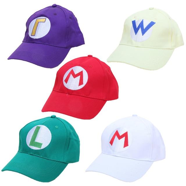 758b9ca103e Game Super Mario Hat Odyssey Mario Cap luigi Wearable Baseball Caps Unisex  Adjustable Cotton Cosplay Halloween Party plush toys