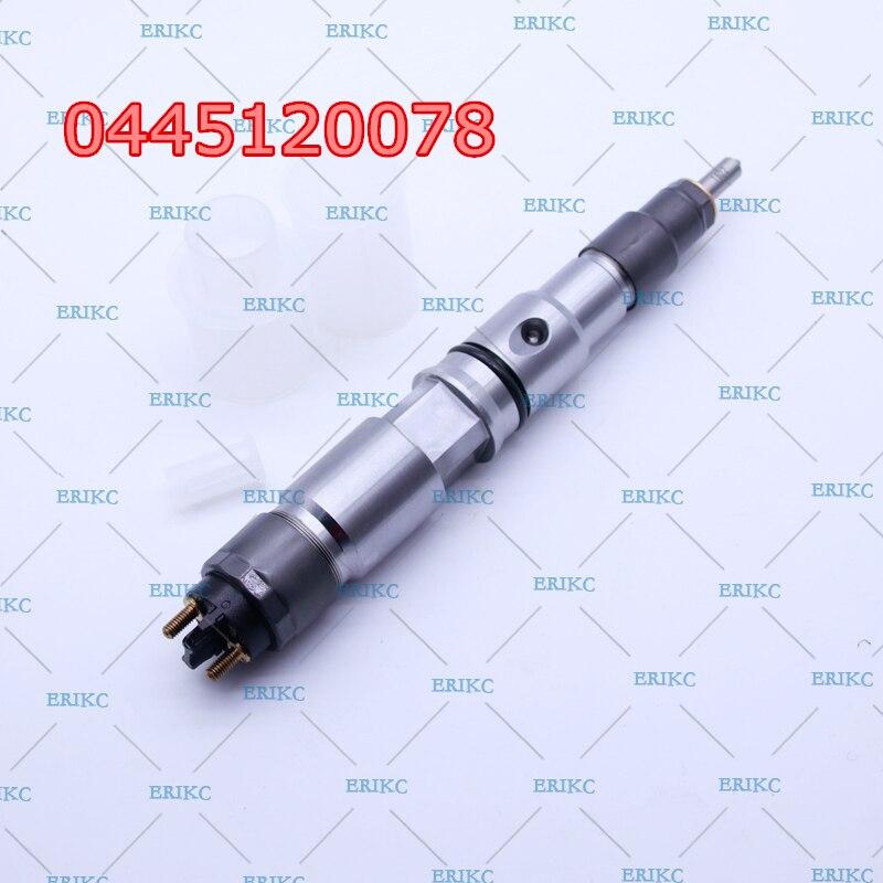 ERIKC 0445120078 (00986AD1014) грузовик дизельный Инжектор 0 445 120 078 оригинальный Топливный 0445 120 078 для Bosch FAW 1112010630