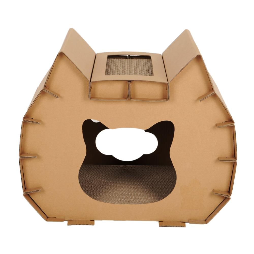 Chat griffoir griffe carton ondulé chat litière chat griffe conseil chat maison