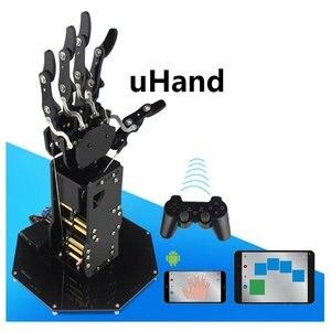 Image 4 - Robô industrial braço biônico, mãos grandes servo dedos de torque automovimento mecânico com painel de controle