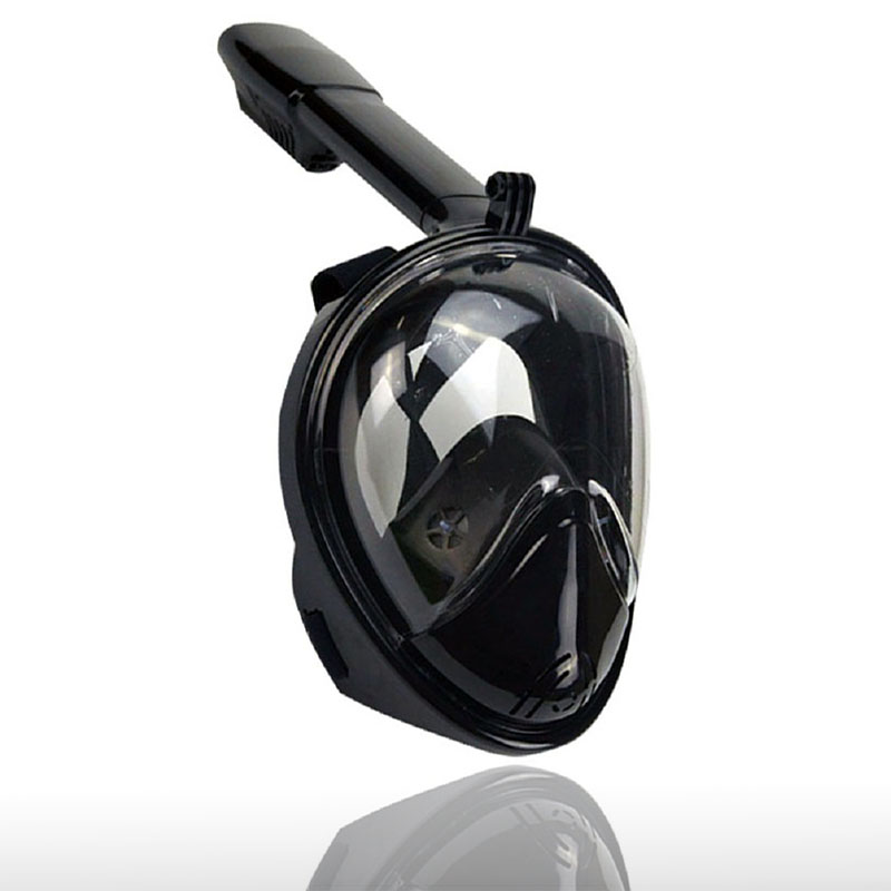 Full Face Anti Fog and Anti Leak Snorkel Diving Mask with 180 Degree Viewing Area and