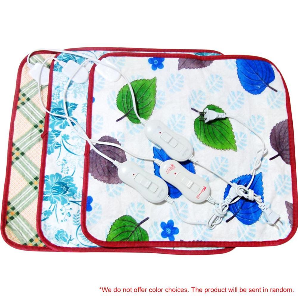 220 В CN штепсельная Вилка для домашних животных, электрическое нагревательное одеяло для кошек, коврик с электрическим подогревом, против царапин, коврик для подогрева собак, спальная кровать для осени и зимы - Цвет: Color Random