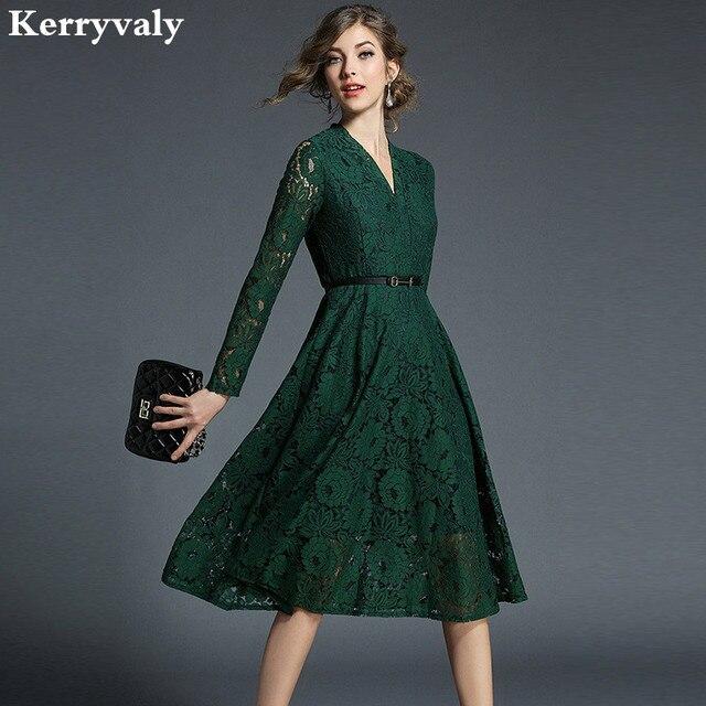 Fotos de vestido de renda verde
