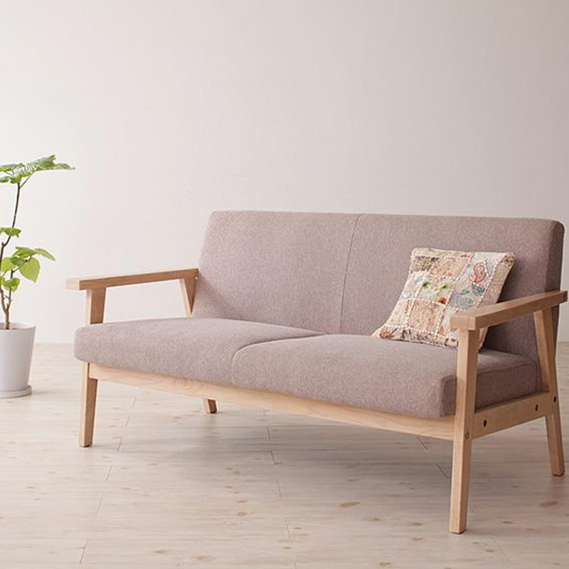 Simple Japanese Style Small Apartment Washable Fabric Single Double Triple Bedroom Living Room Cafe Lounge Sofa Chair In Hotel Sofas From Furniture On