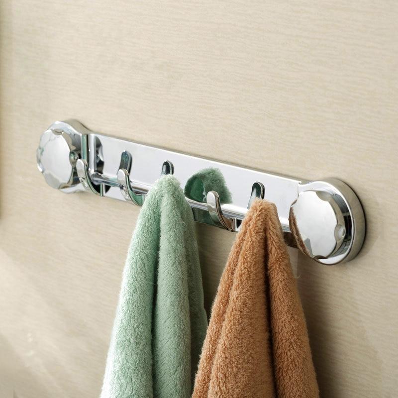 Bathroom Towel Door Hanger: Bathroom Robe Hook 5 Hooks Stainless Steel Polished Door