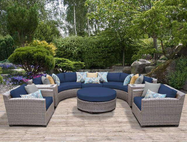 Sigma Weatherproof Sleeper Sofa Rotan Sintetis Hotel Komersial Di