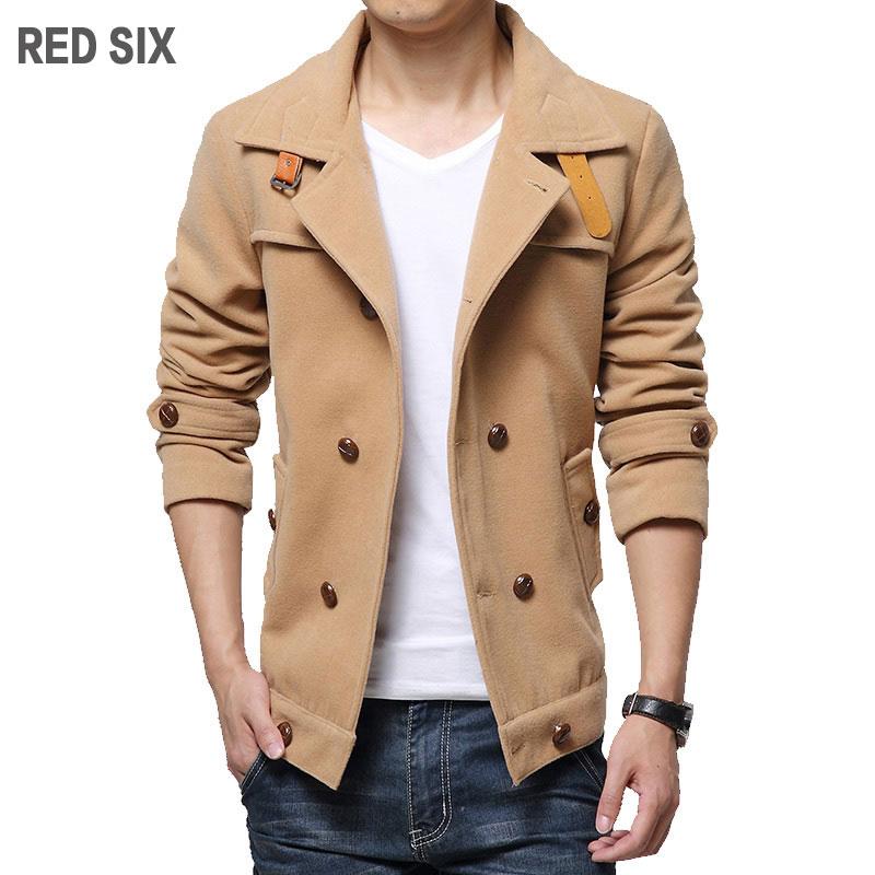 Online Get Cheap Red Pea Coat Men -Aliexpress.com | Alibaba Group