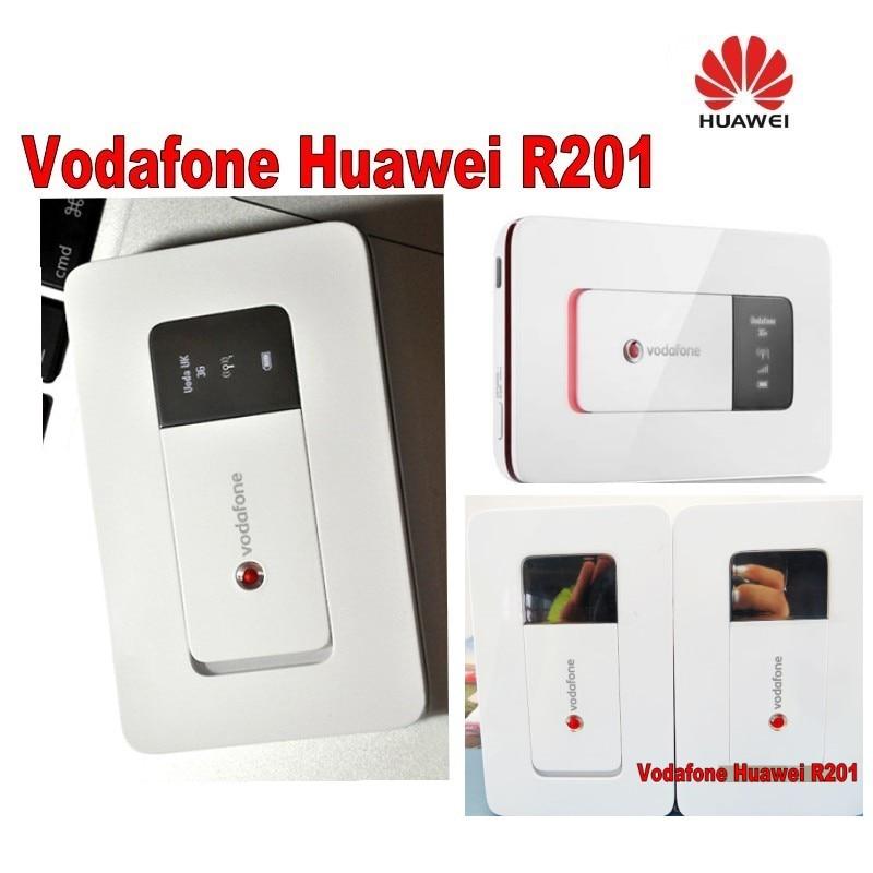 Lot von 2 stücke 3g wifi router Vodafone HUAWEI R201 HSUPA 3g WIFI - Netzwerkausrüstung