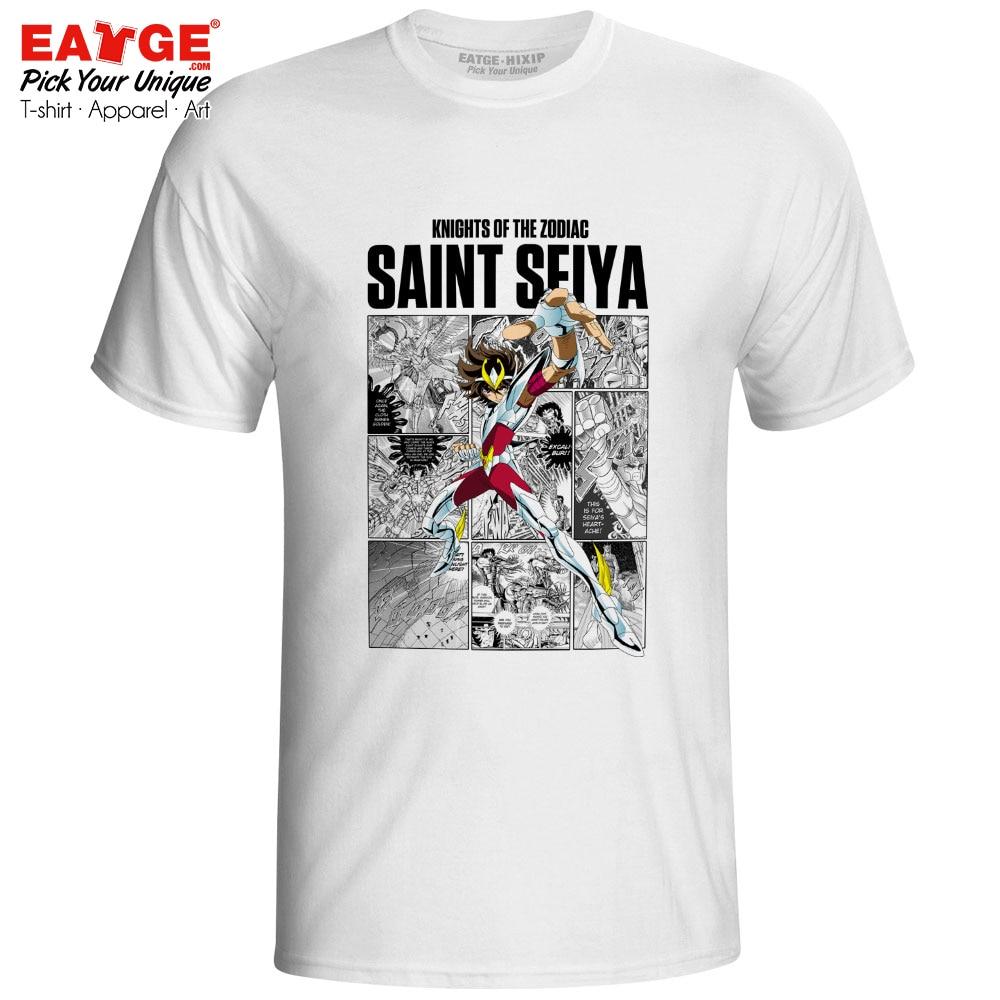 Taurus Aldebaran T Shirt Gold Saints Anime Saint Seiya Knights of the Zodiac Cool Hip Hop Fashion T shirt Skate Rock Unisex Tee in T Shirts from Men 39 s Clothing