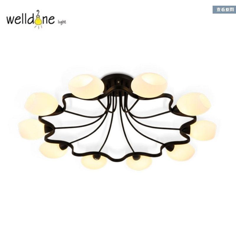 2017 Warm Home Decoration Led Ceiling Lights Hotel Hall Bedroom Glass Lamp pendente de teto Fixture Lighting For Wedding Lamp2017 Warm Home Decoration Led Ceiling Lights Hotel Hall Bedroom Glass Lamp pendente de teto Fixture Lighting For Wedding Lamp