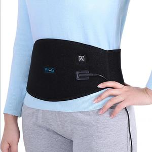 Image 5 - Electric Heating Waist Pad Waist Warmer Corset Belt Women Period Low Back Pain Relief Lumbar Support Bandage Uterus Warmer Belt