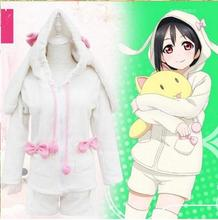 New Miku Rabbit Ears Cartoon Women Dress Long-sleeved Pajamas Tracksuit Wholesale NEW