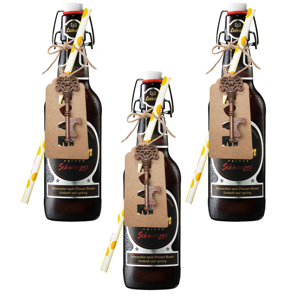 3pcs Wedding Souvenirs Skeleton Bottle Opener + Tags Wedding Favors ...