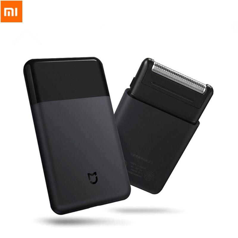 Originele Xiaomi Mijia Elektrische Scheerapparaat voor mannen Smart Mini Draagbare Scheermes Volledig Metalen Body trimmer Draadloze Scheerapparaten Heren Reizen-in slimme afstandsbediening van Consumentenelektronica op  Groep 1