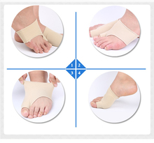 2Pcs Soft Bunion Corrector Toe Separator Splint Correction System Hallux Valgus Foot Care Pedicure Orthotics Tool for legsZ27201