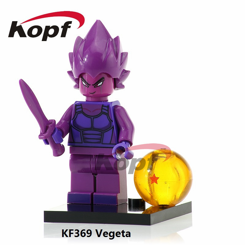 KF369 Dragon Ball Z Figures Vegeta Goku Perfect Cell Majin Buu Master Roshi  Bricks Building Blocks Action Gift Toys for children e07b6732b71b