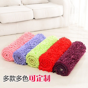 Image 3 - ברמה גבוהה Chenille החלקה גדול אמבטיה שטיחים 15 מוצק צבעים שטיחי אמבטיה שטיח 1pc שטיחים שטיחי אמבטיה