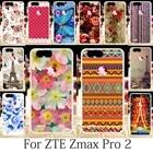 TAOYUNXI For Case ZTE Blade Z MAX Z982 Case ZTE Sequoia ZTE Zmax Pro 2 Cover Oil Painting Roses Funda Eiffel Tower Coque 6.0inch