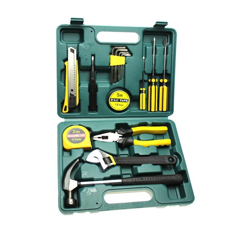 16 шт. домашний сочетание инструмент ручной Электрический Tool Kit ремонт автомобилей оптовая продажа оборудования набор инструментов, техобсл...