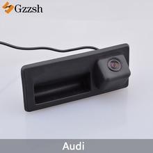 LS8002 Auto Videocamera vista posteriore per Audi A3 A4L A6L A8L S5 Q3 Q5 RS6 Auto Tronco Maniglia di Sostegno di Parcheggio della Macchina Fotografica di Inverso visione Notturna di HD