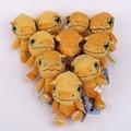 Anime Cartoon Aventura Digimon Gabumon Agumon Palmon Patamon Gomamon Piyomon Peluches Peluches Peluches Muñecas 10 cm 10 unids/lote