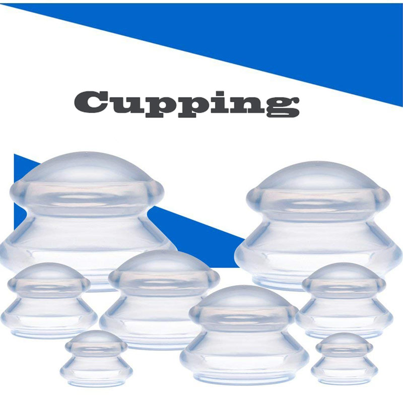 Cupping Therapy Massage Sets 8Pcs Vacuum Silicone Massage Cups Anti Cellulite Cup Traditional Chinese Medicine Health CareCCP097 high quality new 1 cup premium transparent 100% silicone cupping set chinese therapy cellulite medical vacuum big massage cups