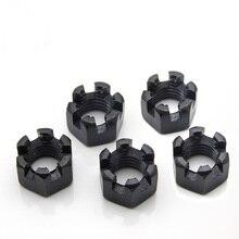 Hex Slotted Nuts and Castle Nuts M6 M8 M10 M12 M16 M20 M24 M27 DIN935 Standard Pitch