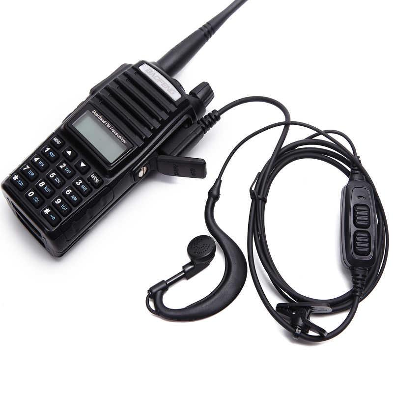 Earpiece Headset for CB Radio Walkie Talkie Baofeng UV5R UV-82 BF-888S for  Kenwood Walkie Talkie Accessories Headphone