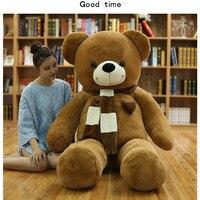 180 см Огромный Большой Tedy Медведь на день рождения Рождественский подарок Плюша Животных мишки мягкая игрушка кукла подушка для взрослых по