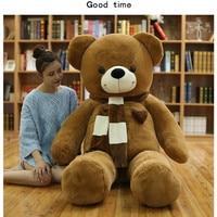 180cm Huge big Tedy bear Birthday Christmas Gift Stuffed Plush animal teddy bear soft toy doll pillow baby adult gift Juguetes
