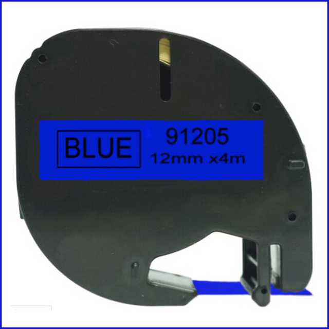 Aliexpress Buy Ludeou For Dymo Letratag Plastic 12mm Label