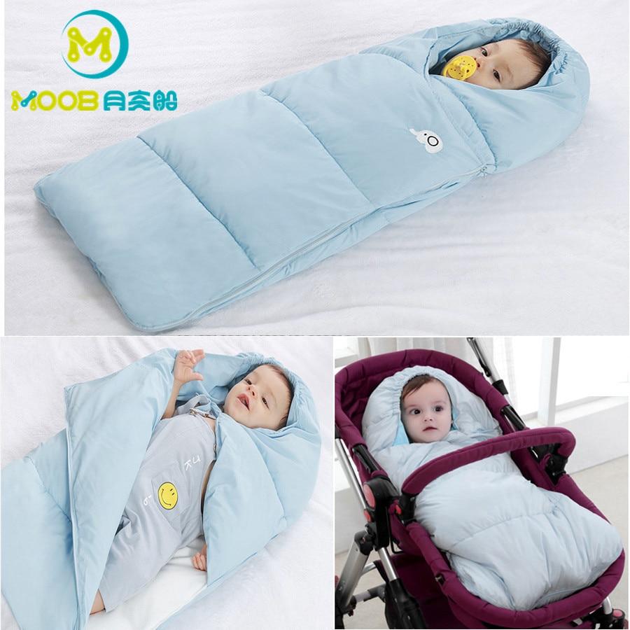 MOOB Bébé sac de couchage s Hiver Chaud Enveloppe Pour Les Nouveau-nés Chancelière Pour Poussette sac de couchage Infantile Fauteuil Roulant sac de couchage Enfants