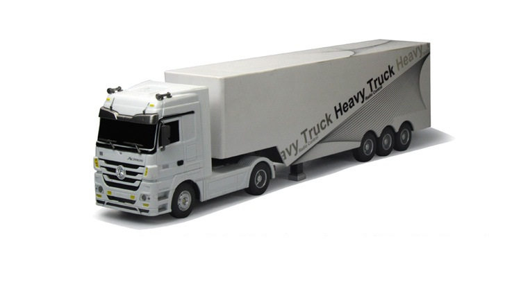 Remote Control Truck Kids Electric Toy Car Big Rc Container Truck Trailer Children RC Truck Model Toy Car With Remote Control in RC Cars from Toys Hobbies